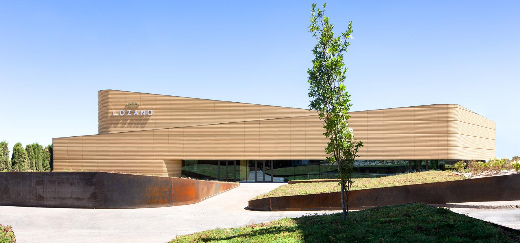 Bodega Albacete - La Mancha - Bodegas Lozano fachada