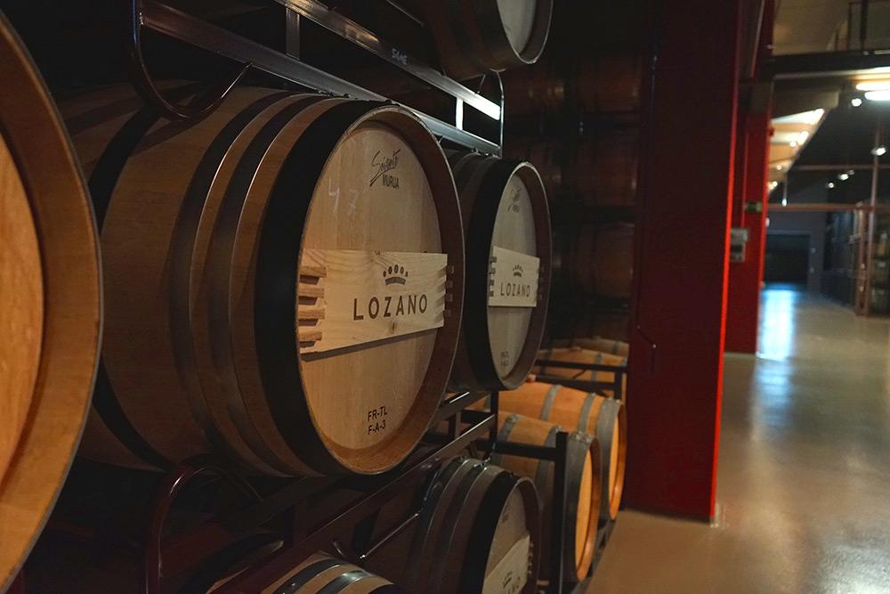 Bodega Rioja - Bodegas Lozano barricas