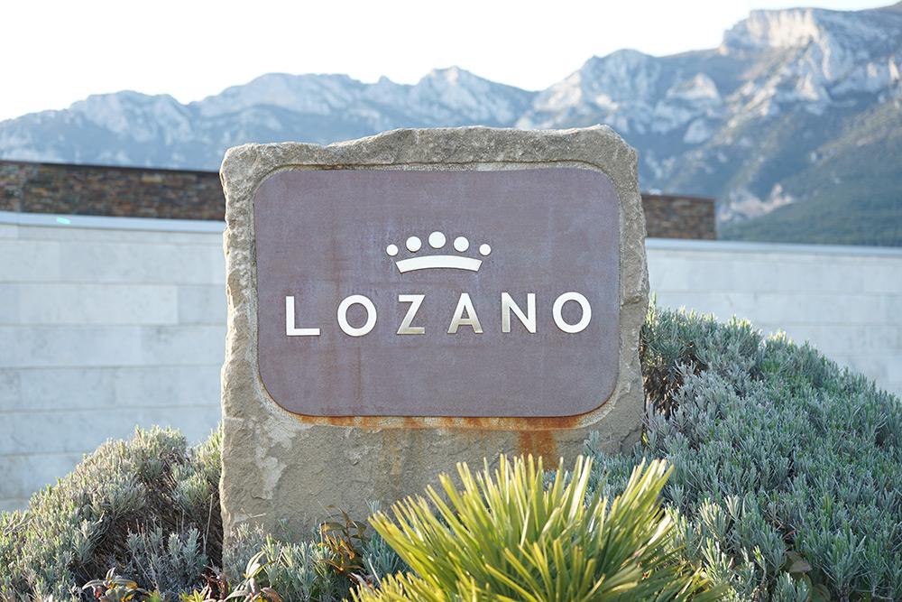 Bodega Rioja - Bodegas Lozano placa nombre