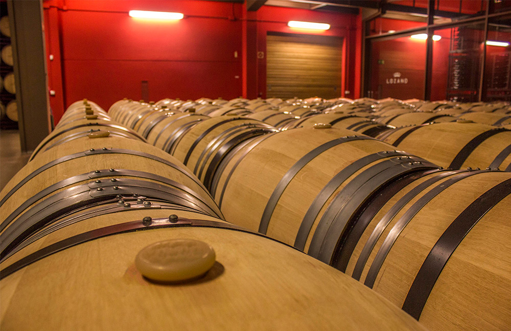 Bodega Rioja - Bodegas Lozano botellas de vino Montes de Leza