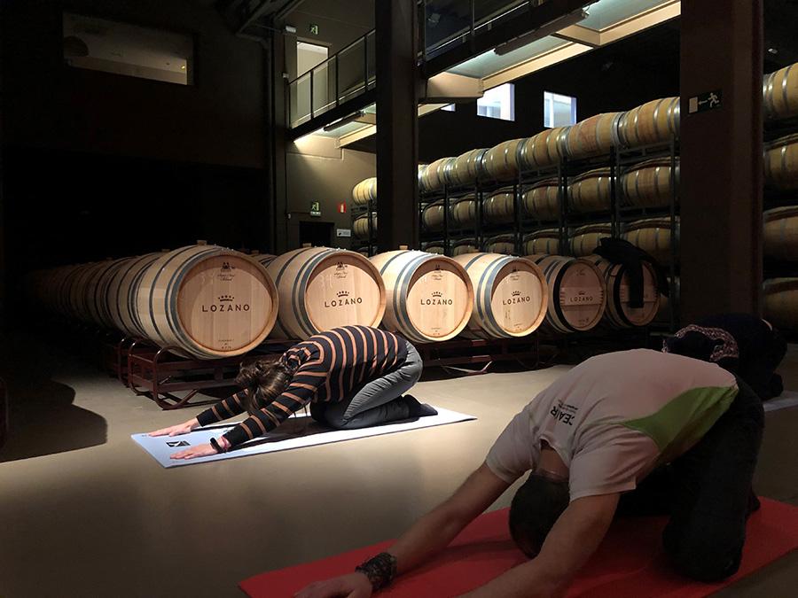 Eventos  - Bodegas Lozano - Pilates adultos