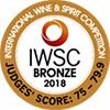 IWSC Bronze 2018 - Logo