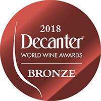 2018 Decanter World Wine Bronze - 86 Points - Logo