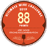 Ultimate Wine Challenge 2019 - 88 puntos - Logo