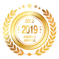 America Awards Gold 2019 - Logo