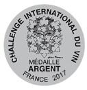 2017 Challenge International Du Vin Silver - Logo