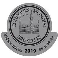 Concours Mondal Bruxelles Silver Medal 2019 - Logo