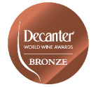Decanter World Wine Bronze 2019 - 88 Points - Logo